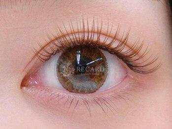 レカロ 宮崎店(RECARO)の写真/【外国人風ブラウンカラー】透明感溢れるハーフEyeを演出《ALLブラウン系カラー☆ナチュラル120本¥5080》