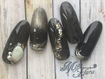 ホームネイルサロン 戸田 ミハ フルーラ(Home Nail Salon Mija Flura)/ラグジュアリー I477L