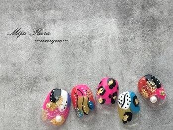 ホームネイルサロン 戸田 ミハ フルーラ(Home Nail Salon Mija Flura)/ユニーク I457UN