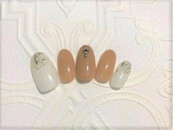 美容室 シャノアール/ハンド定額アート5000円(ジェル)