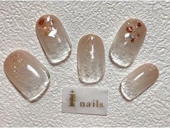 アイネイルズ 梅田店(I nails)/シェルグラデーション