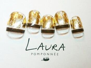 ローラポンポニー(Laura pomponnee)/5月【Transparent】