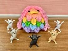 からだハーモニー檪の雰囲気(入口ではアマビエちゃんと猫ちゃんがお出迎え♪疫病退散!)