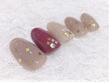 ビューティーアートサロン フェンネイル(Beauty Art Salon Fen Nail)/定額選択制デザインB