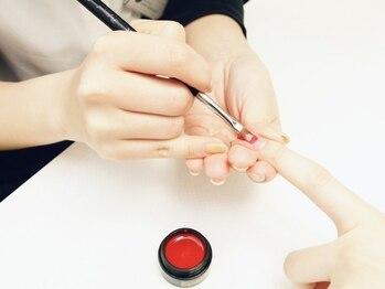 """マークジーン 姫路(MARK JEAN)の写真/自爪を削らない""""パラジェル""""導入サロン◇爪の健康を考えた施術でネイルをより長く楽しんでいただけます♪"""
