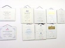 JNA認定講師のほか数々の実績を誇るトップネイリストが施術!