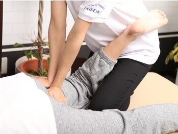 タイセイカン グリーンシティ高橋店(TAiSEiKAN)の写真/男性も数多く通う【TAiSEiKAN】。疲労でガチガチに固くなった身体もセラピストの熟練手技でほぐします!