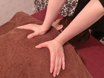ボディブランド(BODY BRAND)の写真/6種のアロマから選択可能【極上ボディケア60分¥3900】固まりやすいコリ!しっかりほぐして体を軽く♪