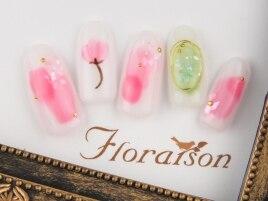初回¥6990★春を彩る桜色ネイル