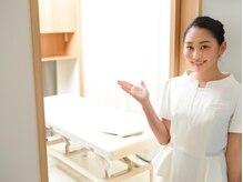 お手入れルームは、清潔感溢れる、プライベート空間。