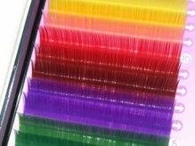 アイラッシュ ルアナ(Eye Lash LUANA)の雰囲気(カラーも豊富にご用意しているので、ご希望の目元になれる♪)