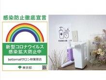 ベターネイルサロン 秋葉原(Better)/換気 マスク 消毒