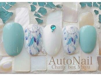 チャティーボックスマユ(Chatty box Mayu)/8月のこだわりデザイン