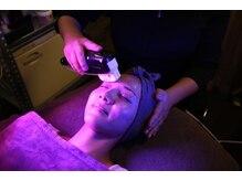 癒し工房ゆらぎ(YURAGI)の雰囲気(最新HIFUを使用したお顔のリフトアップ。小じわ、たるみを緩和♪)