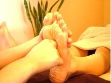 足は体の疲れが出やすい所。ほどよい刺激で足元から体を元気に!