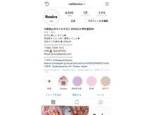 Instagram フォロワー1万人超えの人気サロンです★ @nailbonica