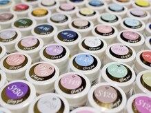 モカネイル(moca nail)の雰囲気(カラーの種類を豊富にご用意!ニュアンスネイルもオススメです♪)