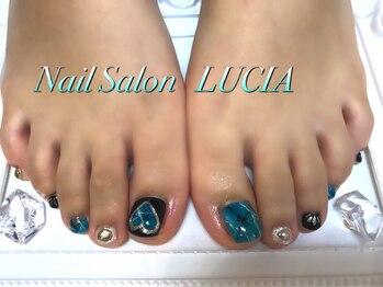 ルシア(Nail Salon LUCIA)/大理石ネイル