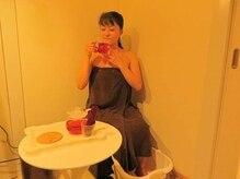トレゾア(TRESOR)の雰囲気(施術前の10分サービスで足湯と温かいハーブティーで癒されます♪)