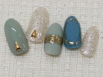 モアネイル 千歳烏山店(MOAH NAIL)の写真/【初回他店オフ無料】パラジェルベースで自爪を傷めず長くネイルを楽しめる◎《なりたい指先》を叶えます♪