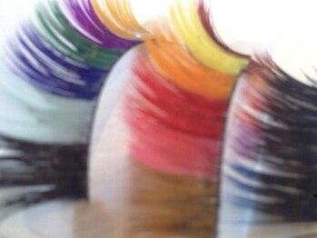 まつげエクステ専門美容室 キャンディモア 芦屋ラポルテ店(CANDYmore)/カラーエクステも豊富♪