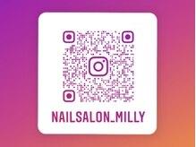 ネイルサロン ミリー(Nail Salon Milly)の雰囲気(豊富なデザイン、お客様ネイルはInstagramで♪)