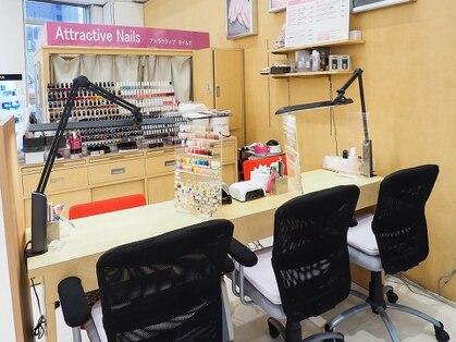 アトラクティブネイルズ 三宮店(神戸・元町・三宮・灘区/ネイル)の写真