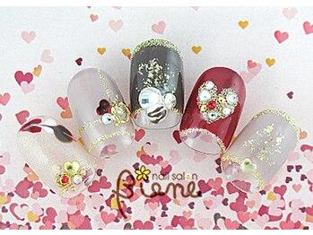 ネイルサロン ビーネ(nail salon Biene)/バレンタイン2018¥12980-7