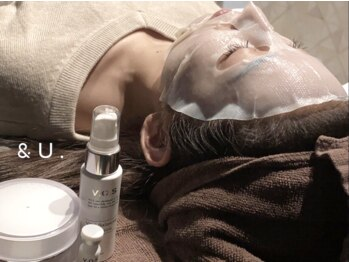 アンドユー(&U.)の写真/自分の肌に驚く!超最先端の美容法【VOS】新導入!話題の[イノスピキュール]で肌革命を起こします☆