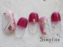 シンプリーネイル 表参道店(Simpliee Nail)/和装にぴったり♪初回¥5990