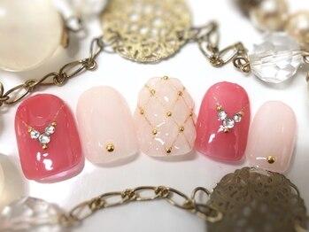 ネイルアンドアイラッシュ ブレス エスパル山形本店(BLESS)/ぷっくりかわいい!