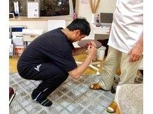 誠心流手技整体療法/膝と足首が良くなると
