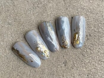 リリービューティーネイル(Lily beauty nail)の写真/【ニュアンスデザイン+オフが¥6000】シ-ンを選ばないトレンドデザインが人気!初めての方もぜひ。当日予約OK