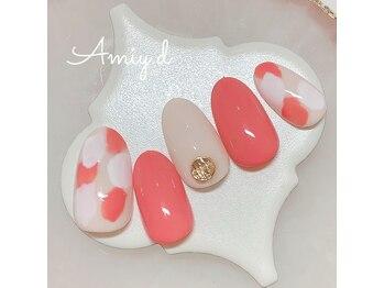 アミーディ ネイル(Amiy.d Nail)/【定額】7800円☆ニュアンス