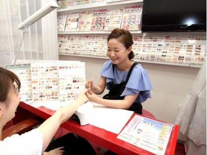 ネイルサロン 爪の美容院 美ネイル 西鈴蘭台店(NAIL)の写真