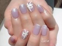 ルチア(Lucia)/リボンネイル