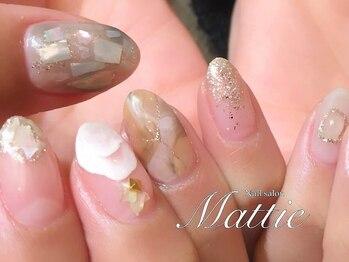 """ネイルサロン マッティ(Mattie)の写真/オトナ女性の""""お気に入りサロン""""♪雰囲気◎技術◎トレンド◎「マグネットネイル」もご用意しております。"""