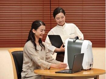VS28スキンケアスタジオ マンディバリ 名古屋(MANDI BALI)の写真/【初めてのフェイシャルケアに】肌質検査器を使用したプロのカウンセリングでオーダーメイドケアを体験☆