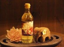 アーユルヴェーダサロン 茶倉の雰囲気(厳選したオイルを使用。活性酸素を除去し体の中からキレイに。)