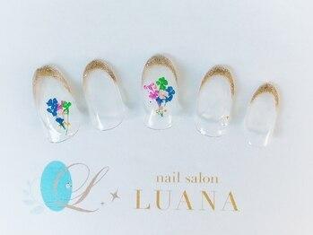 ルアナ(LUANA)/シンプルラグジュアリー6,980円