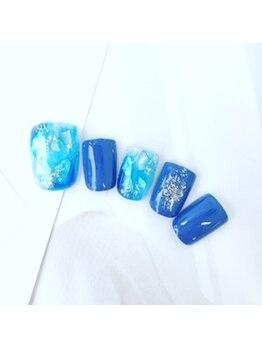 ネイルスペース ヴィタリテ(nail space Vitalite')/6月フットジェル¥6900