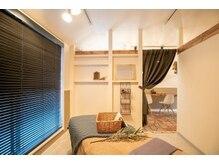 イロドリ(iro dori)の雰囲気(完全個室空間で、自分だけのイロドリ時間をお過ごしください♪)