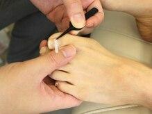 [巻き爪調整]爪の悩みはプロの施術にお任せください!