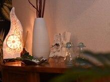プライベートサロン ルナァーリア(LUNARIA)の雰囲気(バリ風のリゾート感溢れるリラックス空間。)