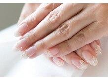 ネイルサロンブラン(nail salon BLANC)/お花のブライダルネイル