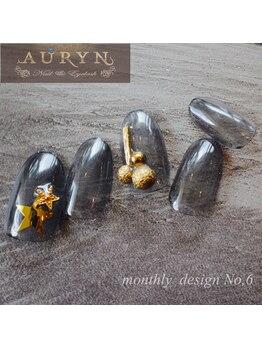 アウリン(AURYN)/8月限定monthly design No,6