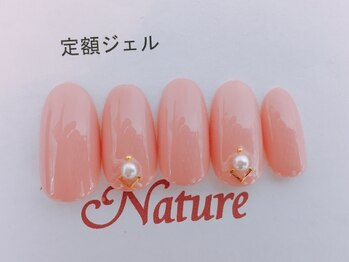 ネイルカレッジアンドサロン ナチュレ(nailcollege&salon NATURE)/定額ジェル5500円