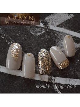 アウリン(AURYN)/8月限定monthly design No,9