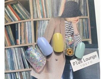 プルースラウンジ トウキョウ(Plus Lounge TOKYO)/トレンド定額ネイル☆7700円