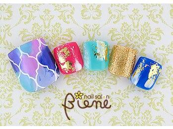 ネイルサロン ビーネ(nail salon Biene)/オフ無料★7月リピート9980-12